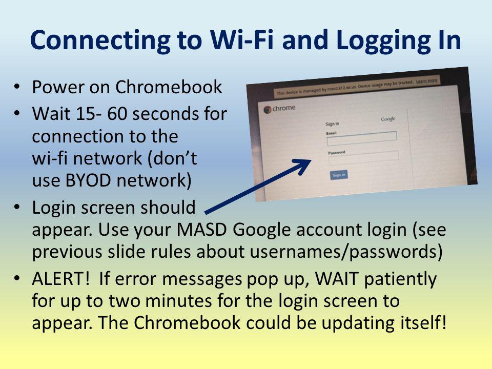 Chromebook Inservice  Agenda Meet the Chromebook's Hardware