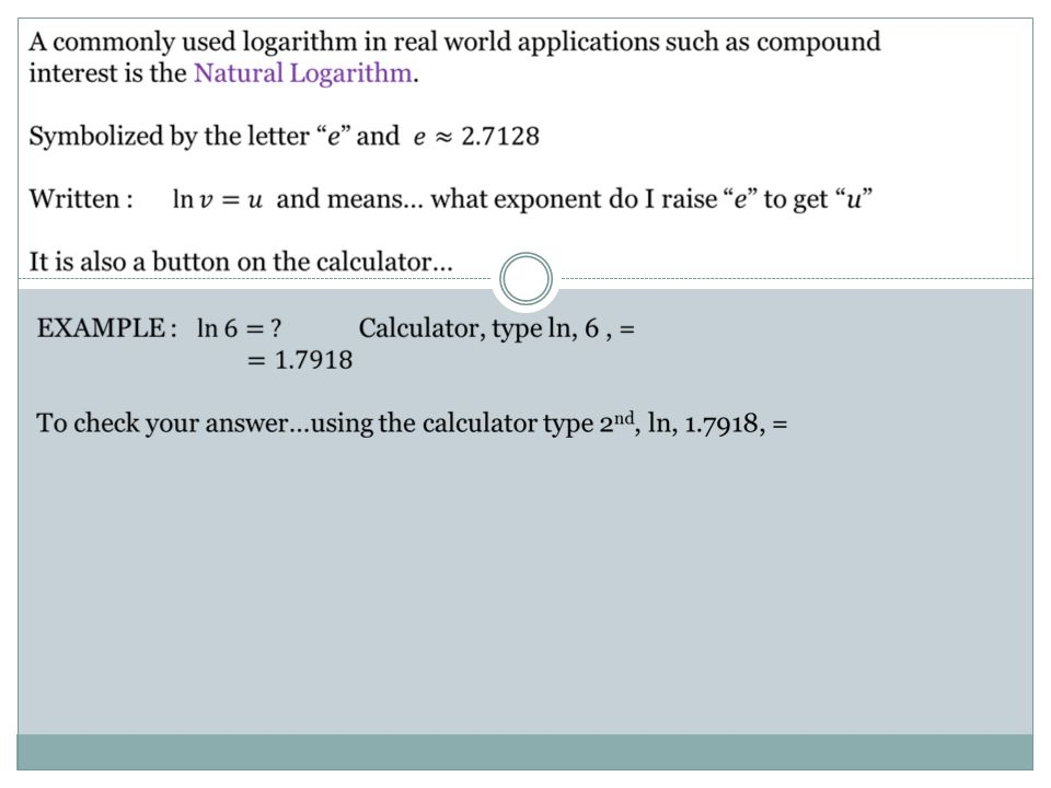 what are logarithms used for in the real world