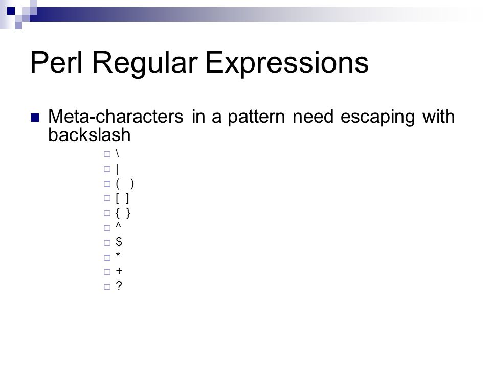 Input Validation with Regular Expressions COEN ppt download