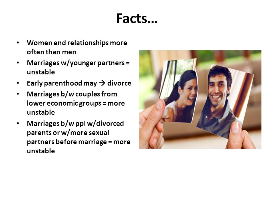 why do women end relationships