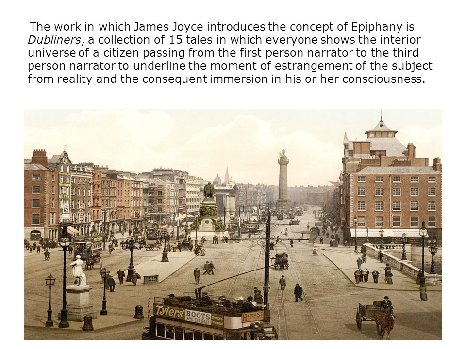 epiphany in dubliners