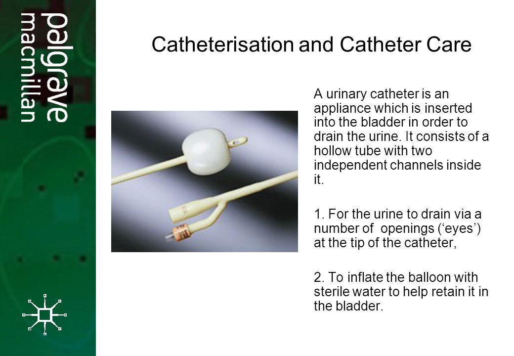 Brilliant idea Catheter hole into pee slid opinion you