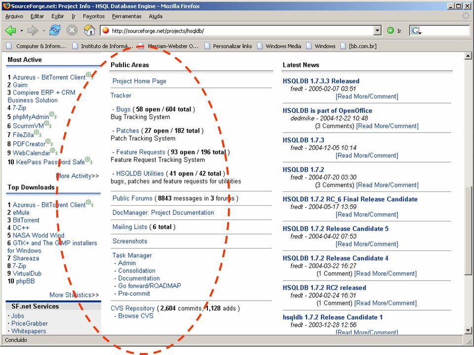 A comparison of Free Software Web Portals Vanessa P
