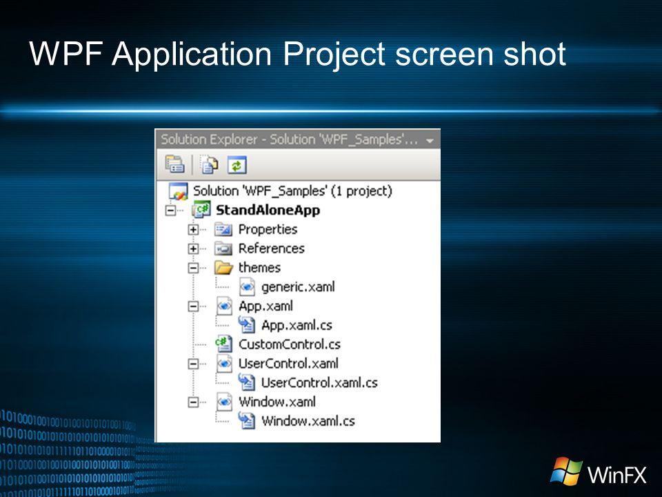 Windows Presentation Foundation  Agenda Introduction