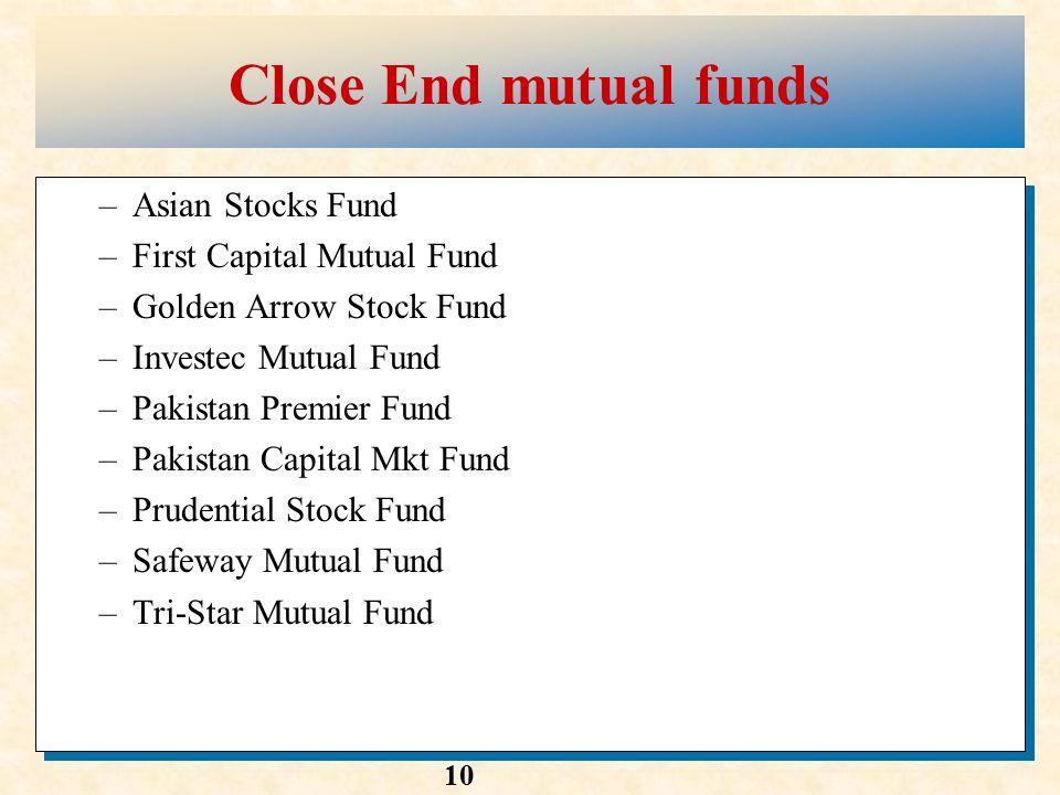 Asian mutual fund