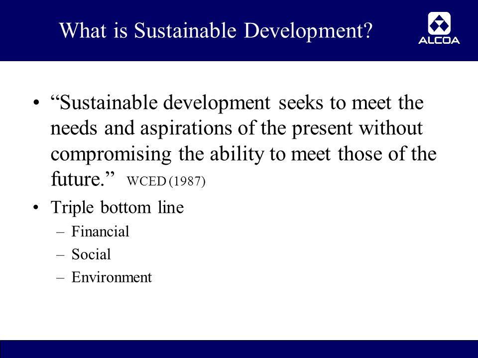 3 What is Sustainable Development.