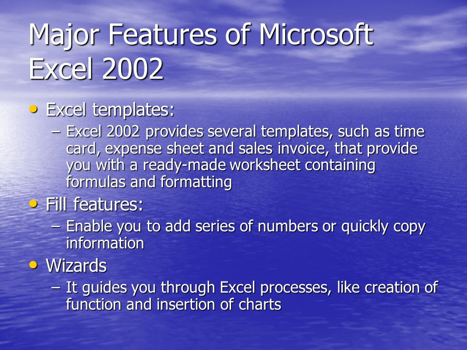 Exploring Spreadsheet Software Chap 1 Introducing Excel Ppt Download