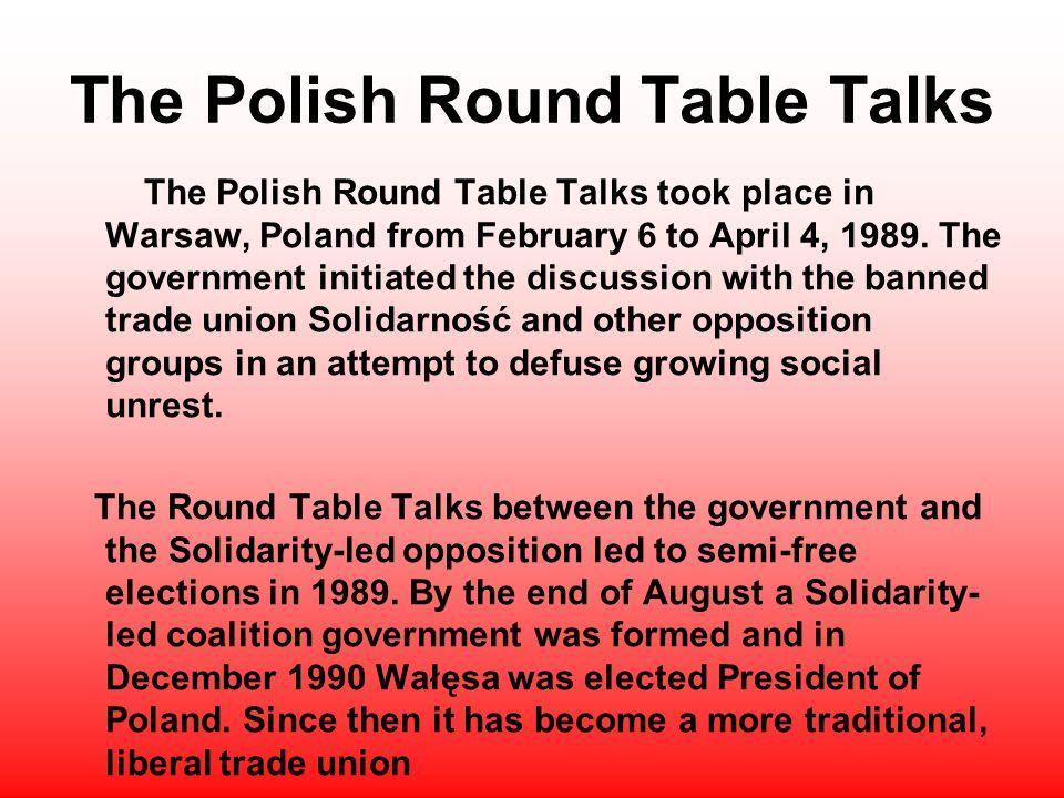 Polish Round Table.Polish Round Table Deoverslag