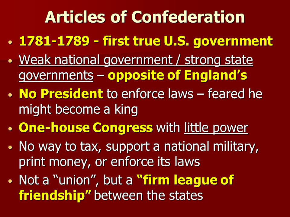 Unit 2: The Constitution of the U.S.