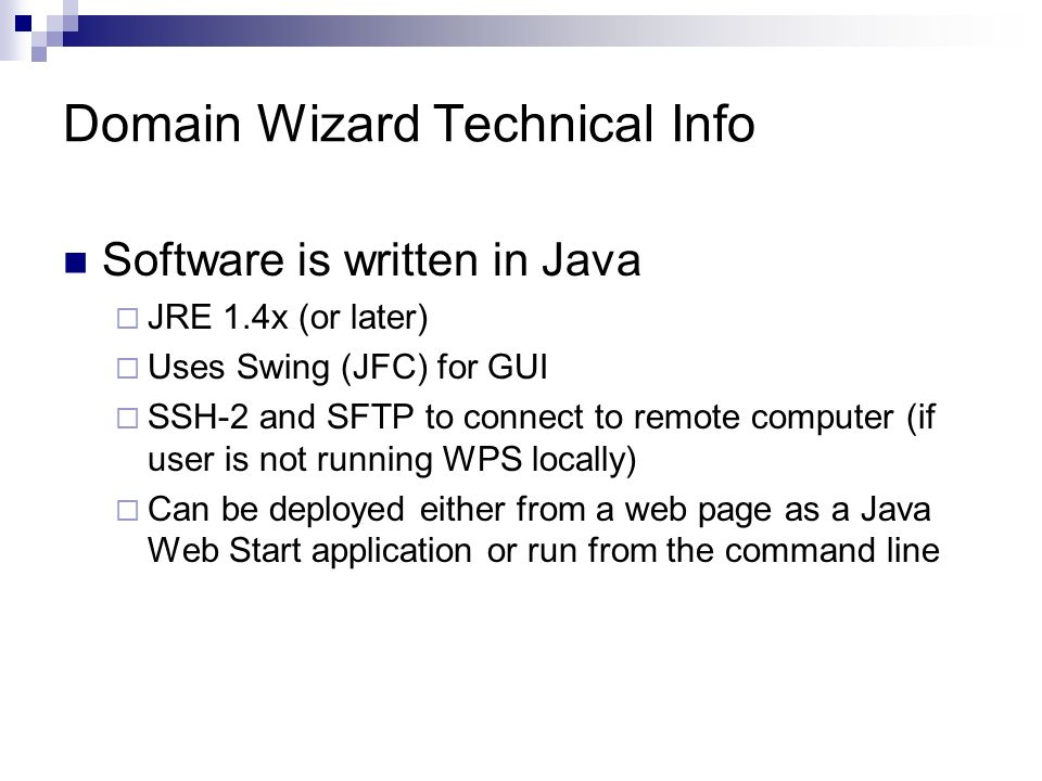 WRF Portal (A GUI Front End For WRF) WRF Domain Wizard (A