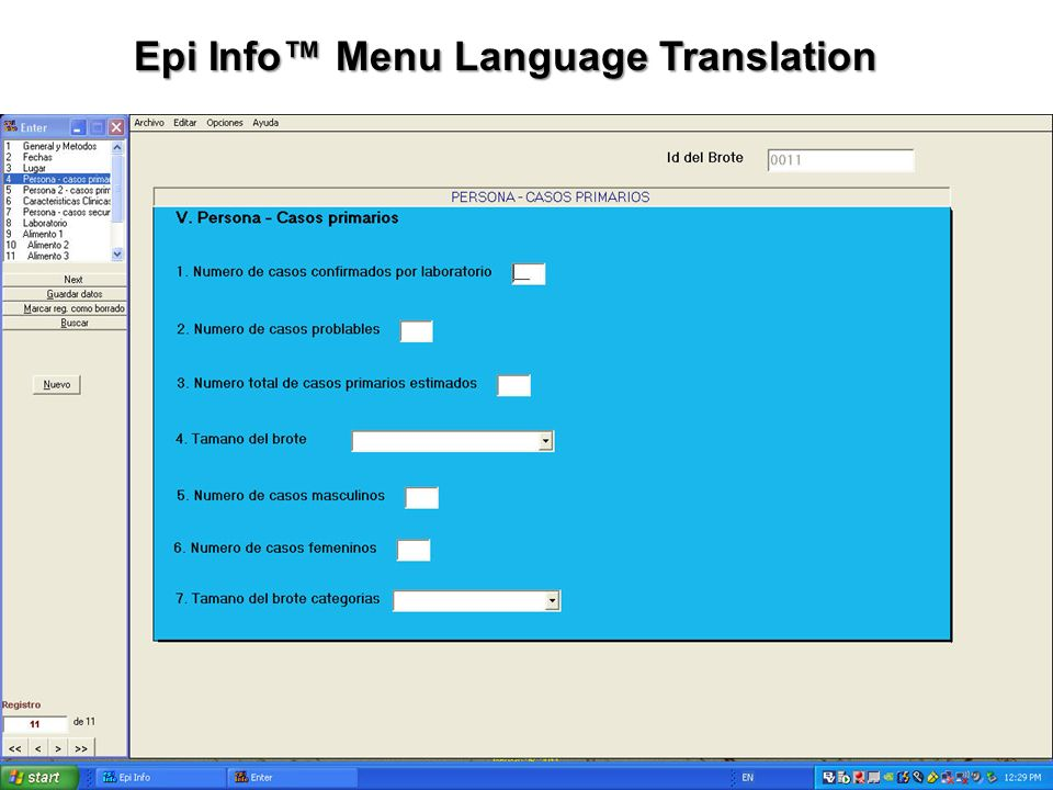 EPI INFO 3.5.3 TÉLÉCHARGER