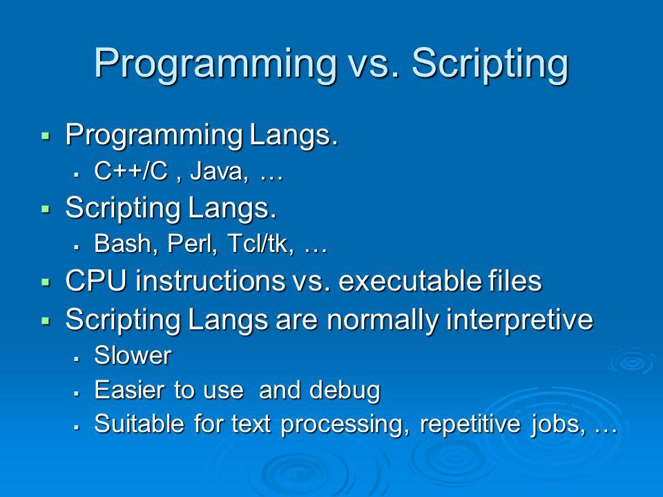 Linux Shell Programming Tutorial 3 ENGR 3950U / CSCI 3020U Operating