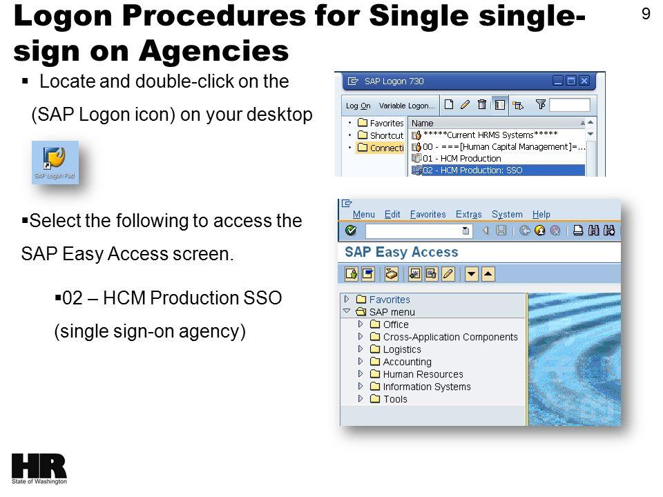 1 HRMS End User Training HRMS End User Training HRMS Basics