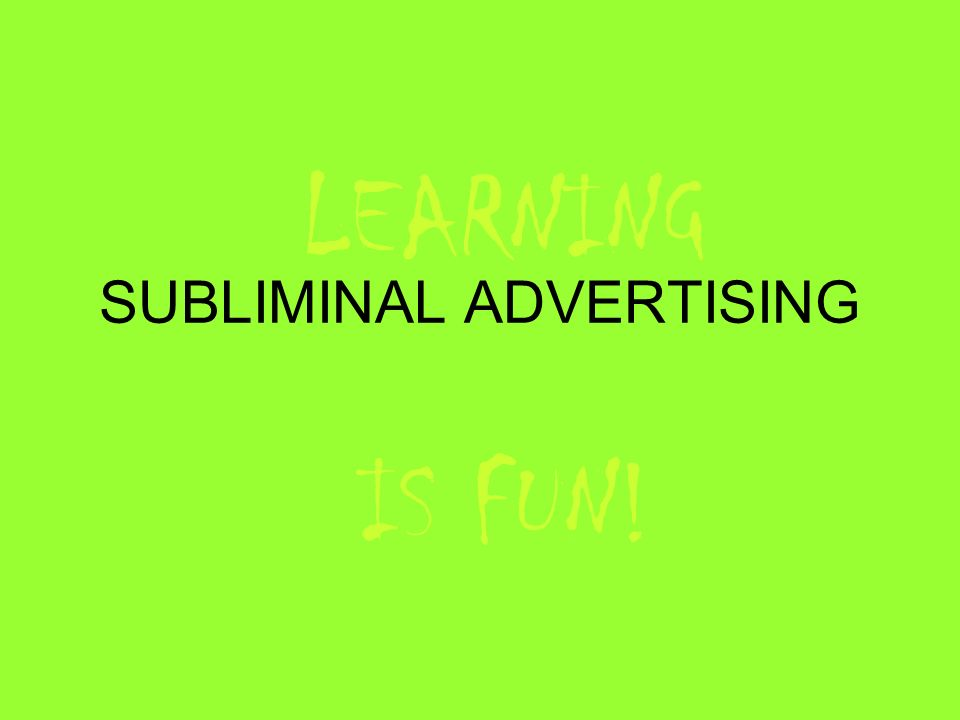 subliminal messaging essay Subliminal messaging essays: over 180,000 subliminal messaging essays, subliminal messaging term papers, subliminal messaging research paper, book reports 184 990 essays, term and research papers available for unlimited access.