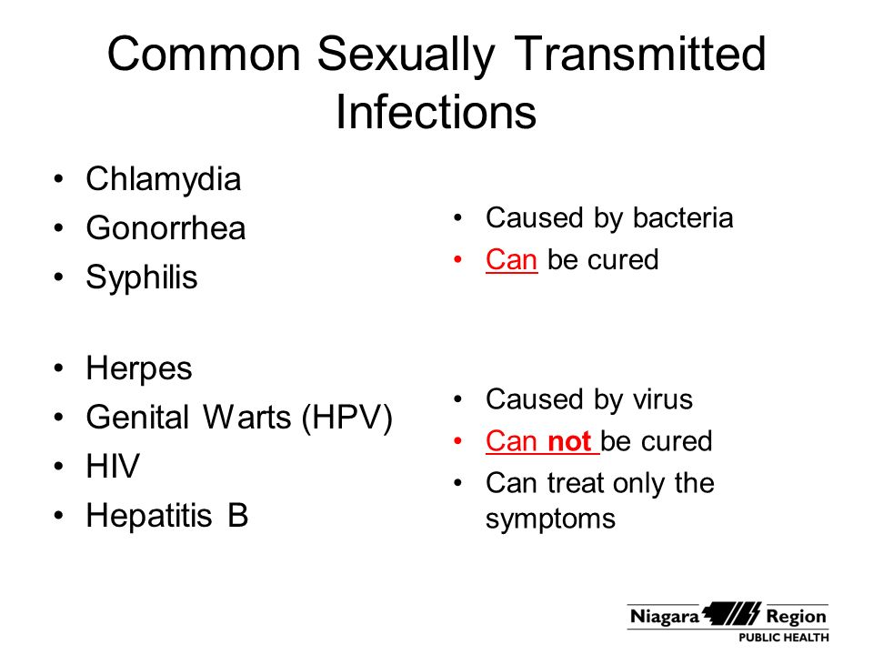 What sexually transmitted disease is caused by a virus