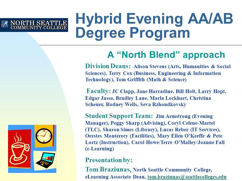 1 Hybrid Evening AA AB Degree