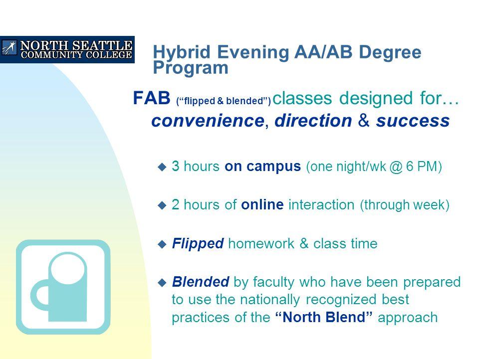 3 Hybrid Evening AA AB Degree