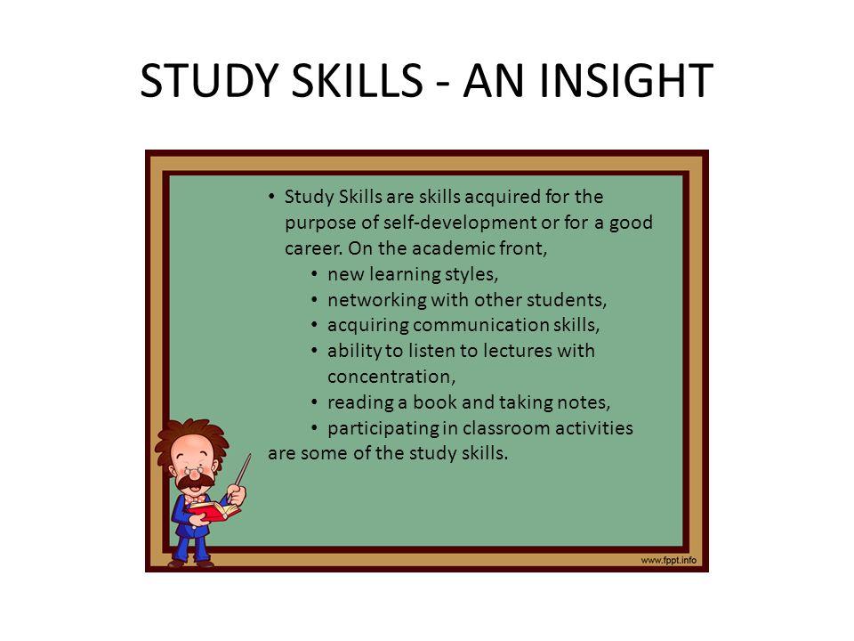 Skill communication study