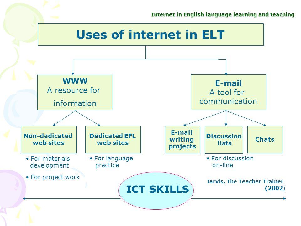 teacher information in english