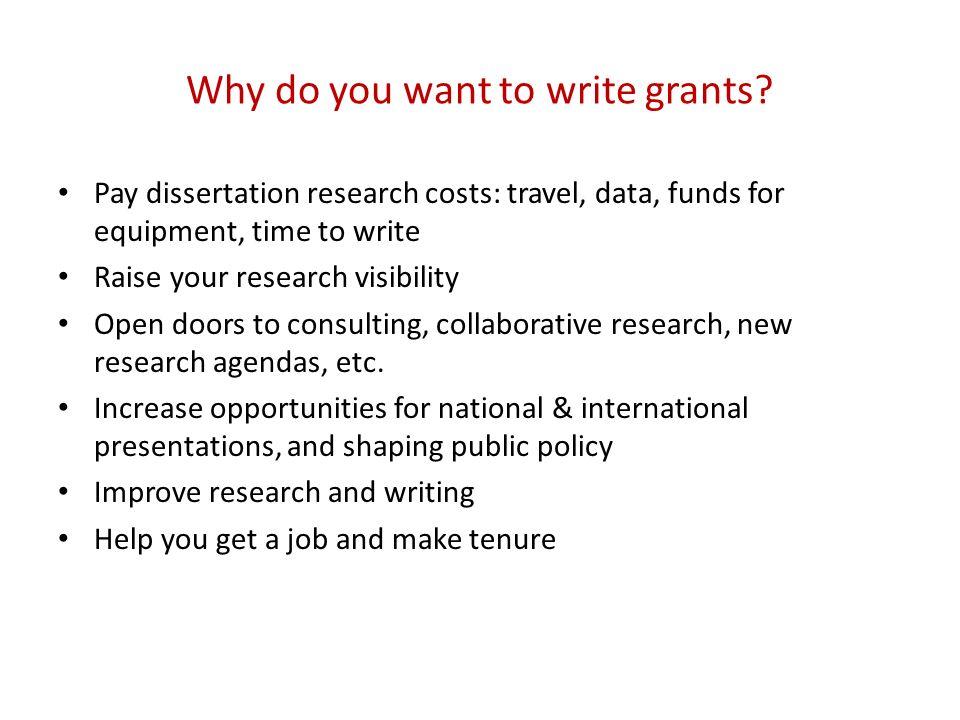 dissertation improvement grant