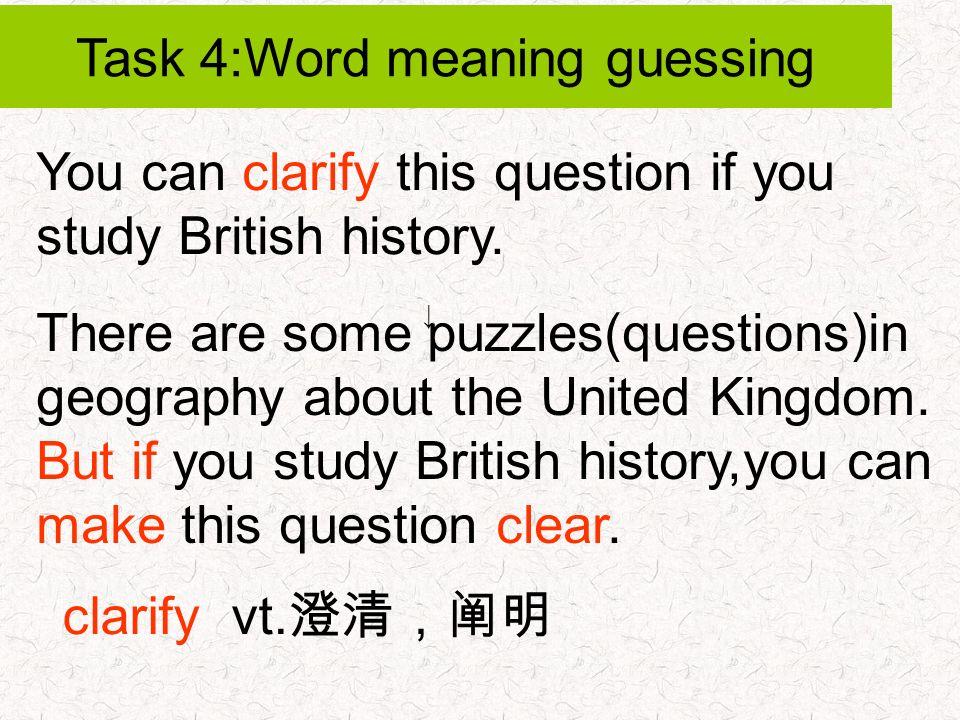 british history questions