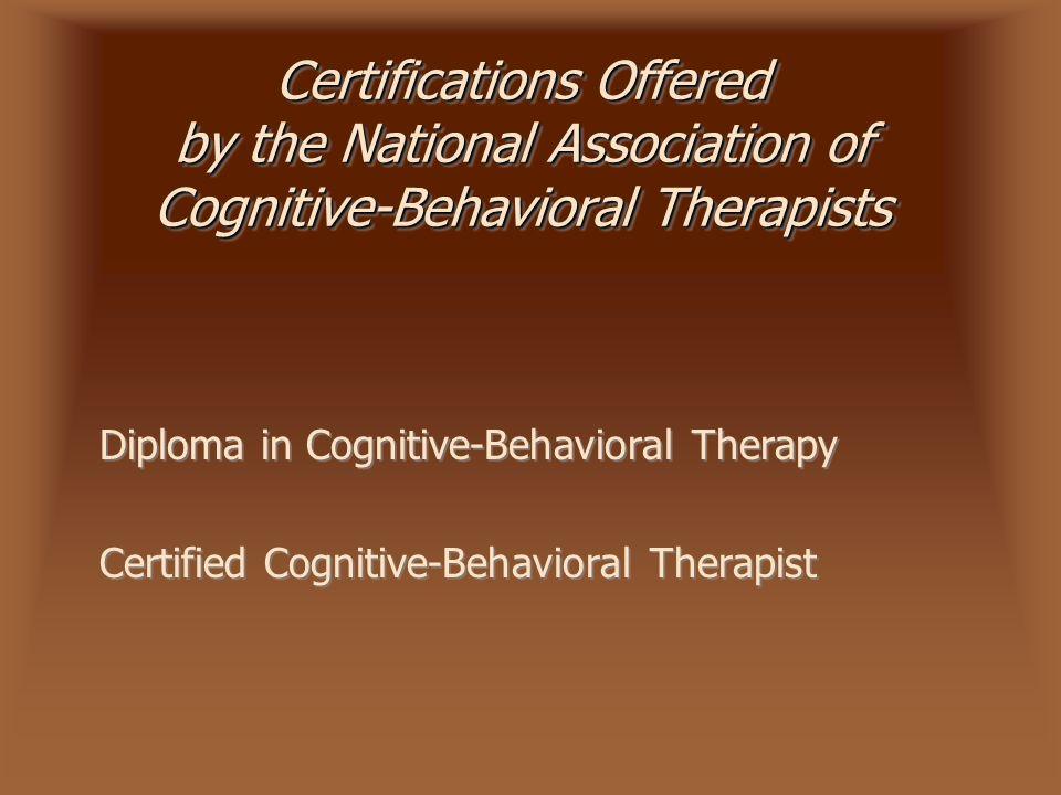 Cognitive Behavioral Therapy Jenna Schmidt Paul Singh Anne Roach