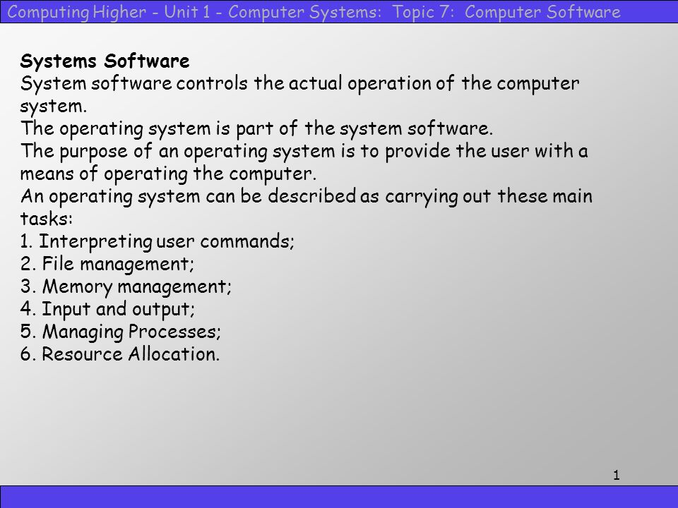 computer topic