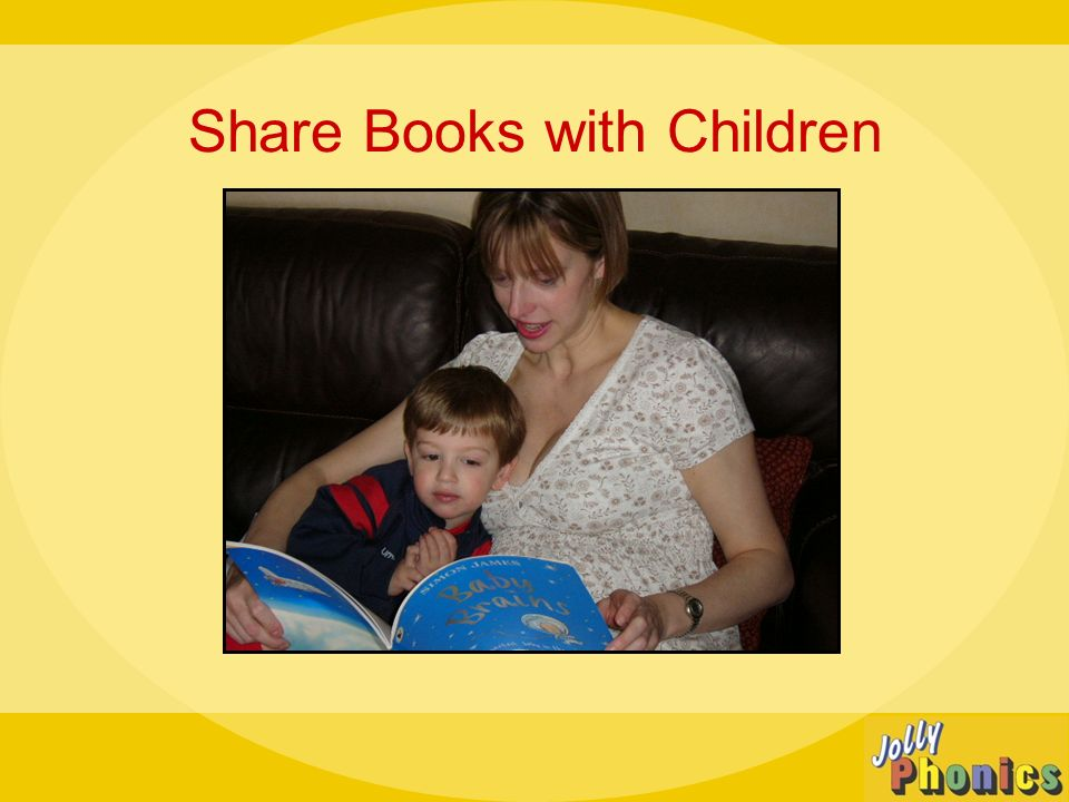 Share Books with Children