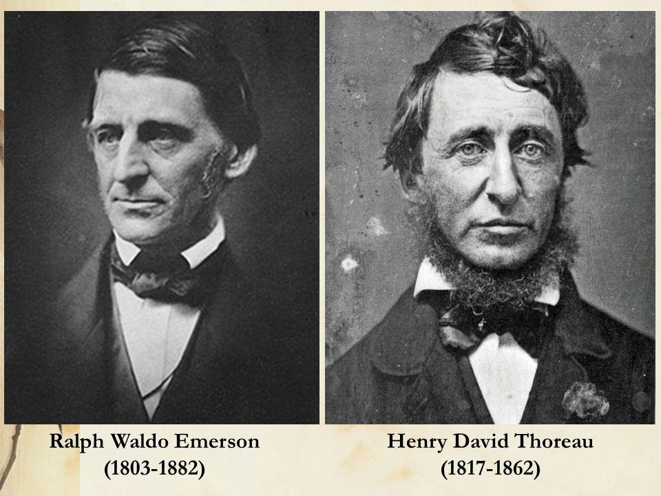 ralph waldo emerson and henry david thoreau