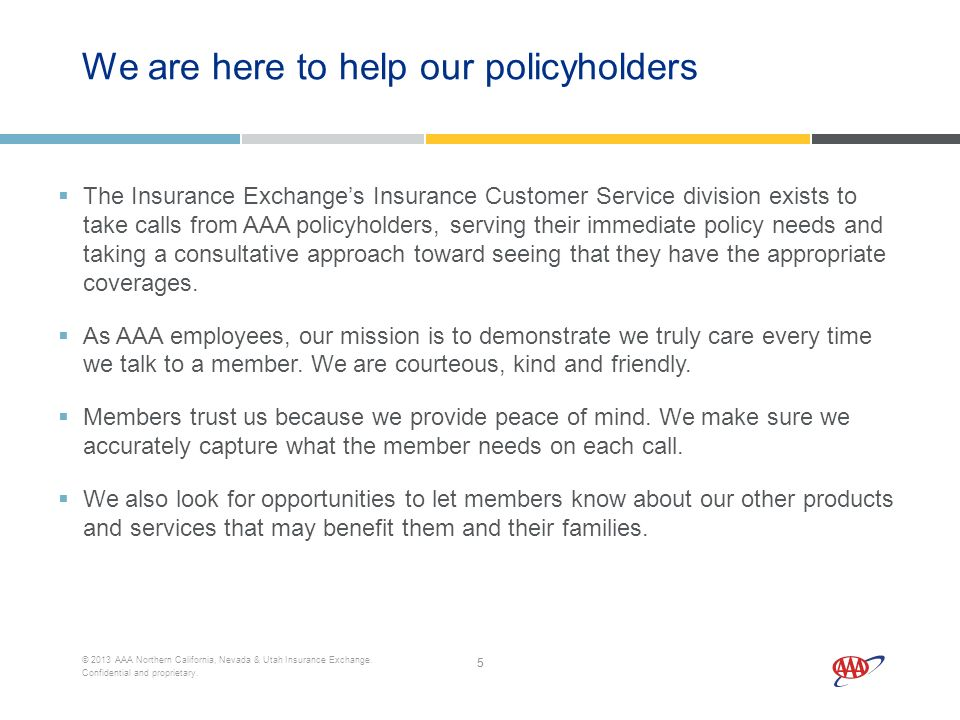 11 2013 AAA Northern California Nevada Utah Insurance Exchange