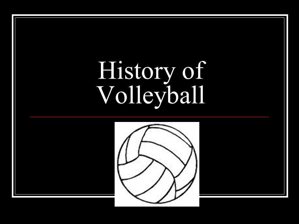 where was volleyball originated