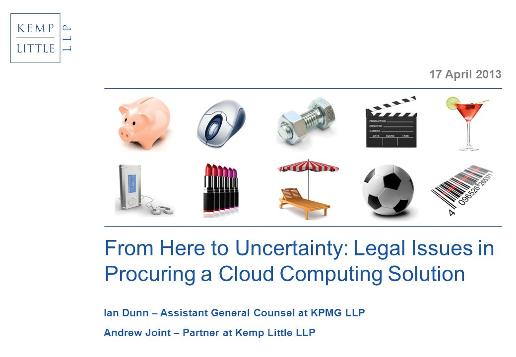 From Here to Uncertainty: Legal Issues in Procuring a Cloud