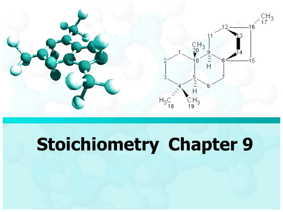 Stoichiometry Chapter 9. Step 1 Balance equations and calculate ...