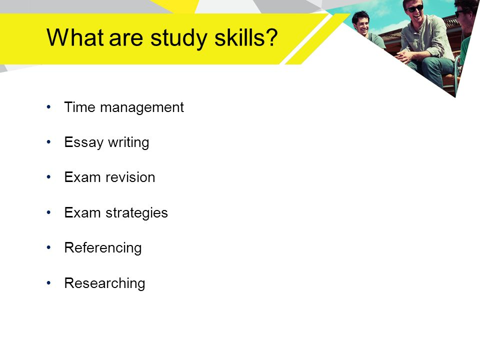 Managing Academic Study. Aims of this session To refresh you on the ...