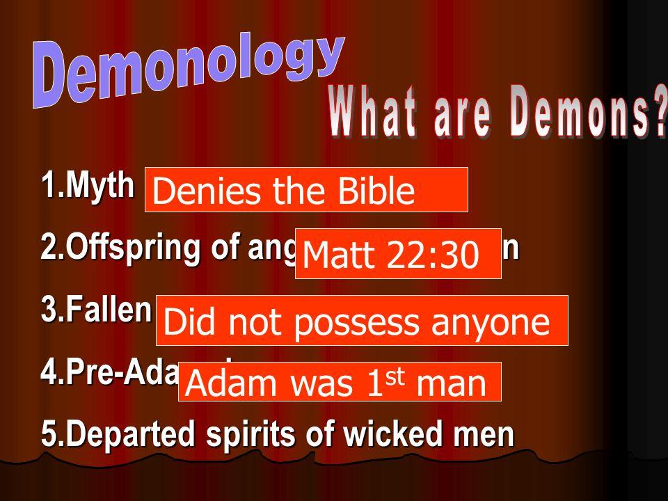"Devils - translated demon Greek =""Daimon"" & ""Daimonion"" One"