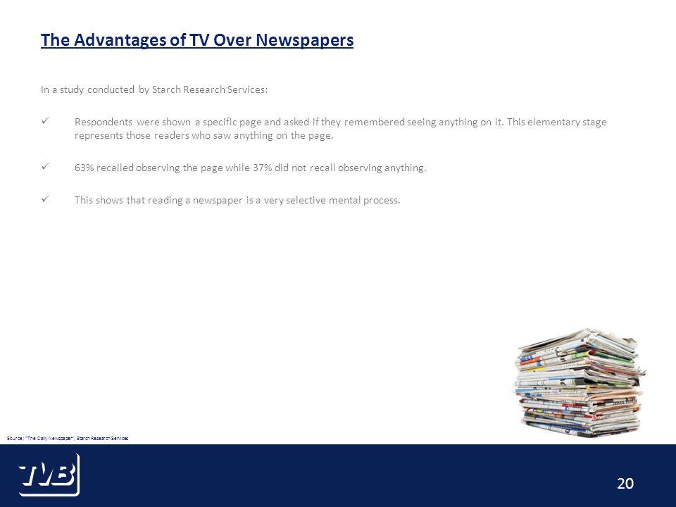 advantage of newspaper reading