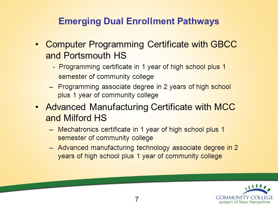 COMMUNITY COLLEGE SYSTEM OF NH Chancellor Ross Gittell September ppt ...