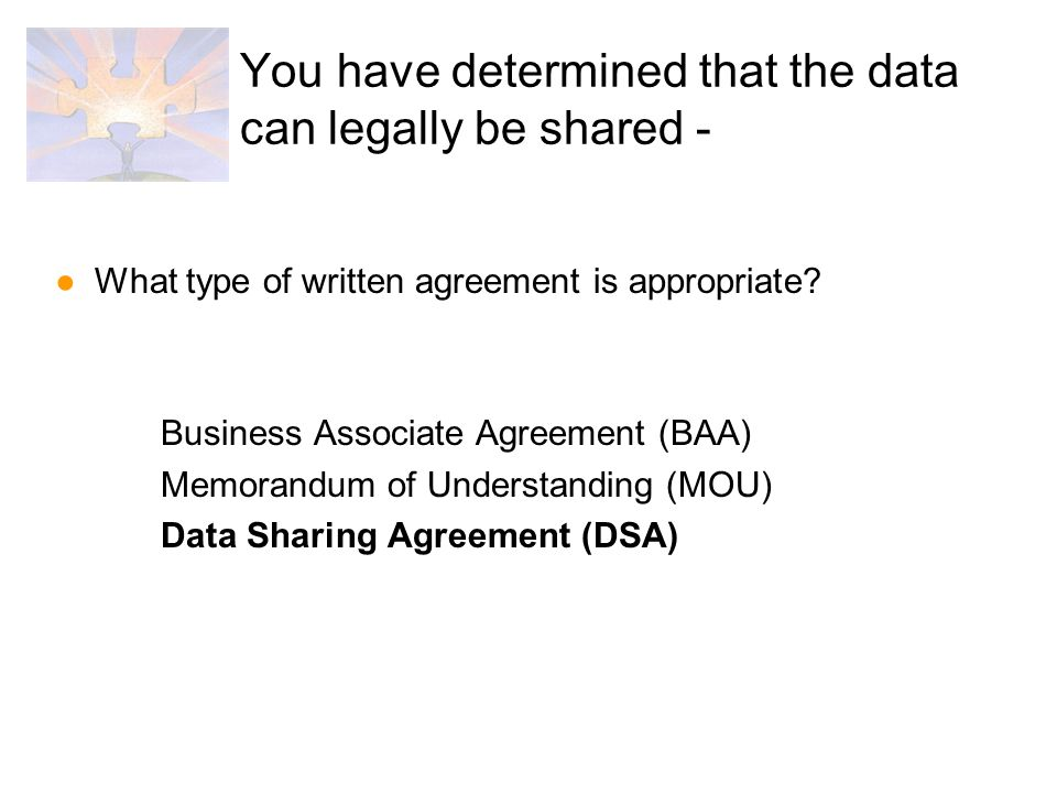 Data Sharing And Data Sharing Agreements Teresa Mulford Mdch Office