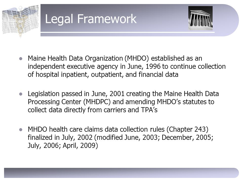 maine all provider all payer claims database what you need to know rh slideplayer com