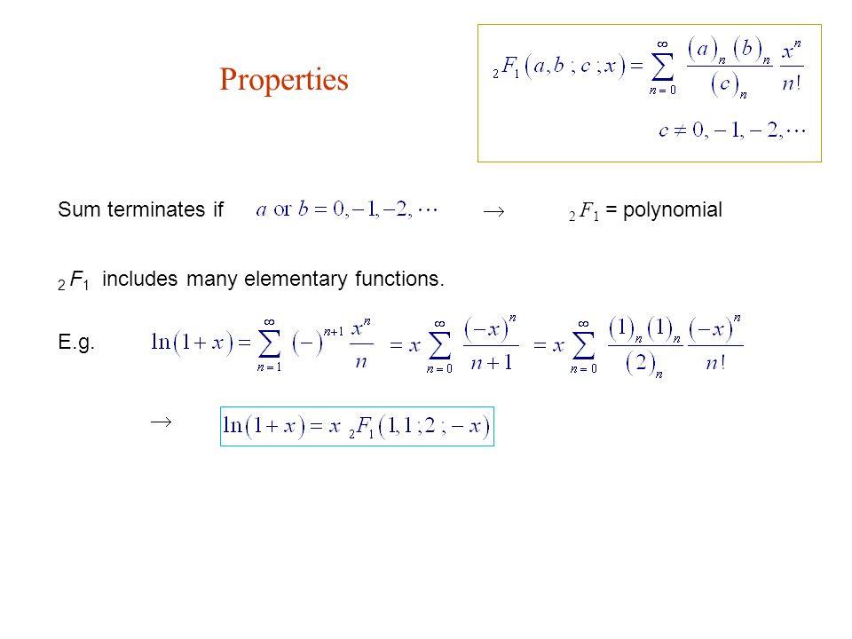 Pochhammer Symbol 5hypergeometric Functions Hypergeometric Equation