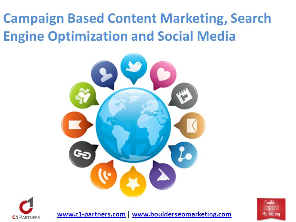 Campaign Based Content Marketing, Search Engine Optimization and Social Media   |