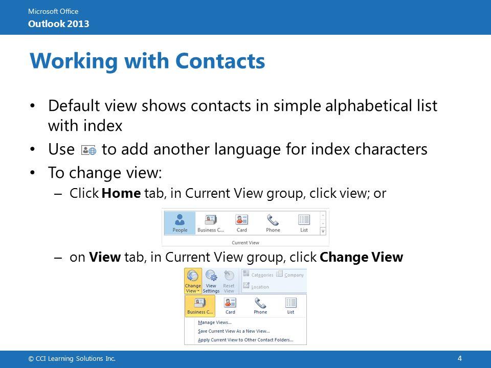 Microsoft Office Outlook 2013 Microsoft Office Outlook 2013
