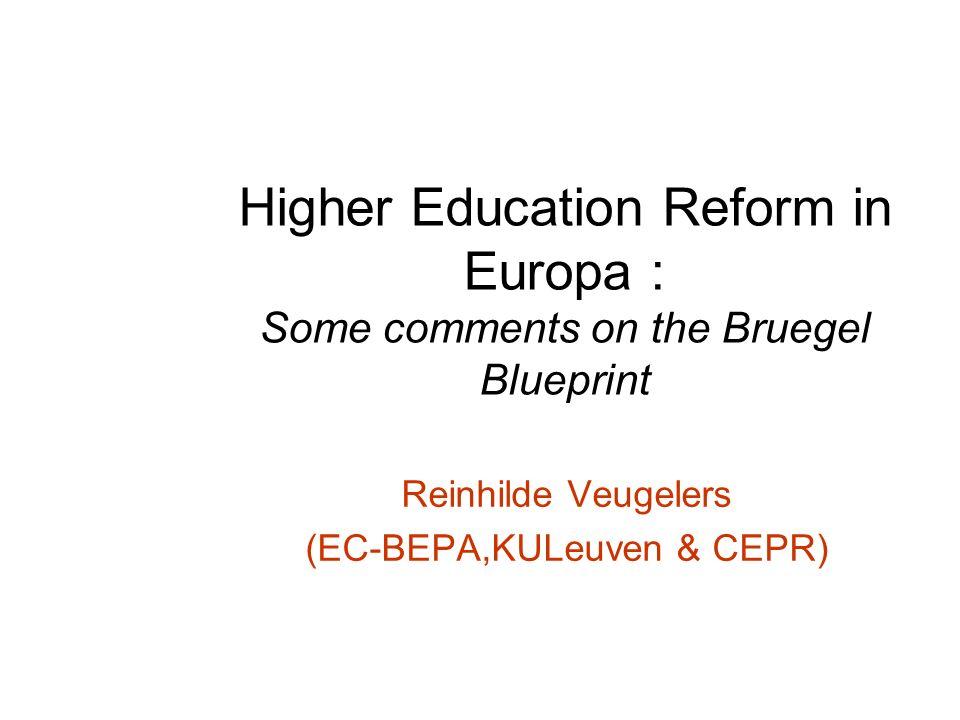 Higher education reform in europa some comments on the bruegel 1 higher education reform in europa some comments on the bruegel blueprint reinhilde veugelers ec bepakuleuven cepr malvernweather Gallery
