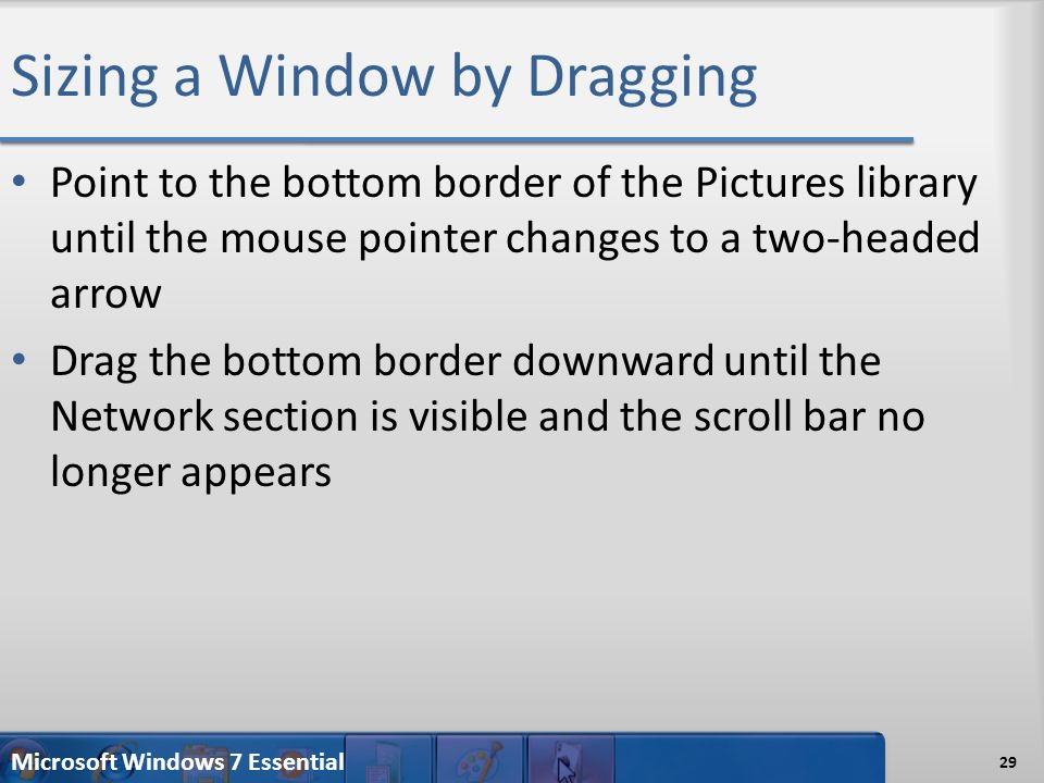 Microsoft Windows 7 Essential Introduction to Windows ppt