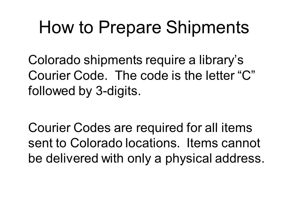 Blue Sky Express Shipping Guide Interlibrary Delivery Linking Kansas