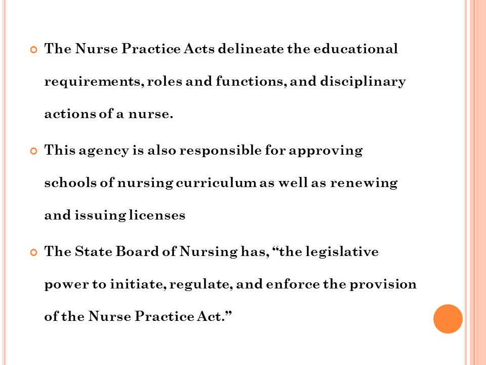 BOARD OF NURSING  CONTENTS What is board of nursing? Roles