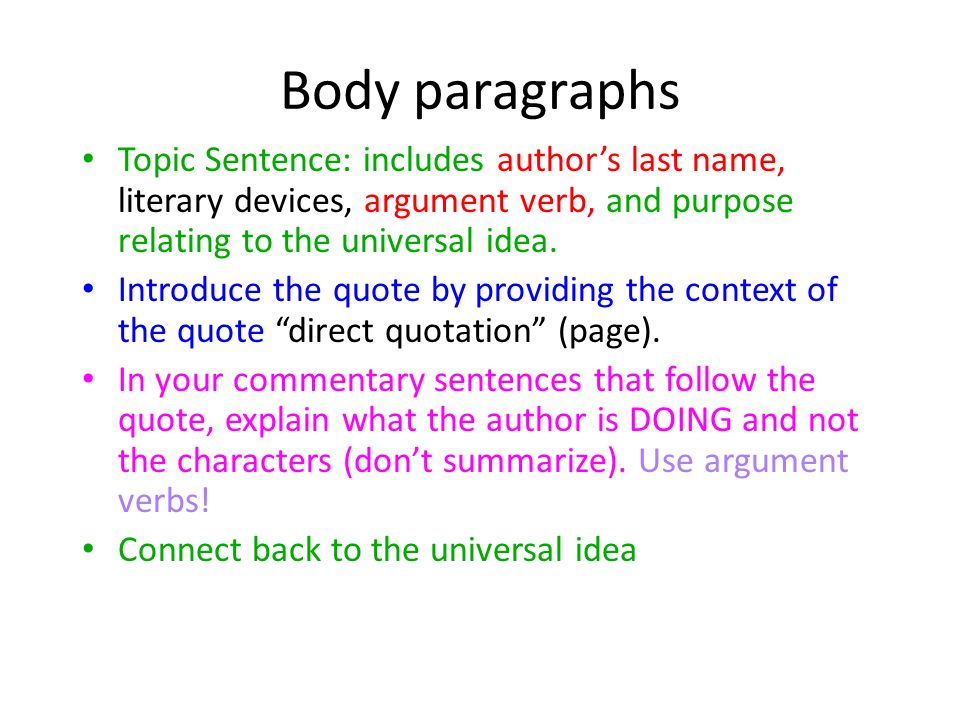 Www Oppapers Com Essays Body Paragraphs Topic Sentence Includes Authors Last Name Literary  Devices Argument Verb Expository Essay Thesis Statement Examples also Science Essays Topics Writing The Rhetorical Analysis Essay Use This Power Point As A  High School Persuasive Essay Topics