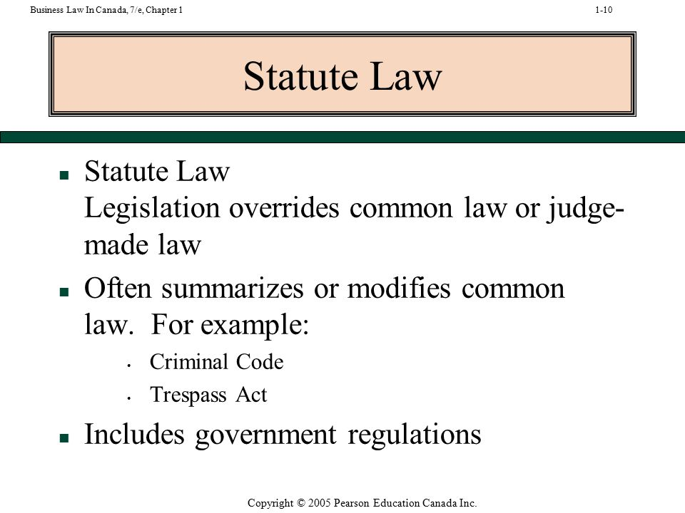 Internal aids to interpretation of law.