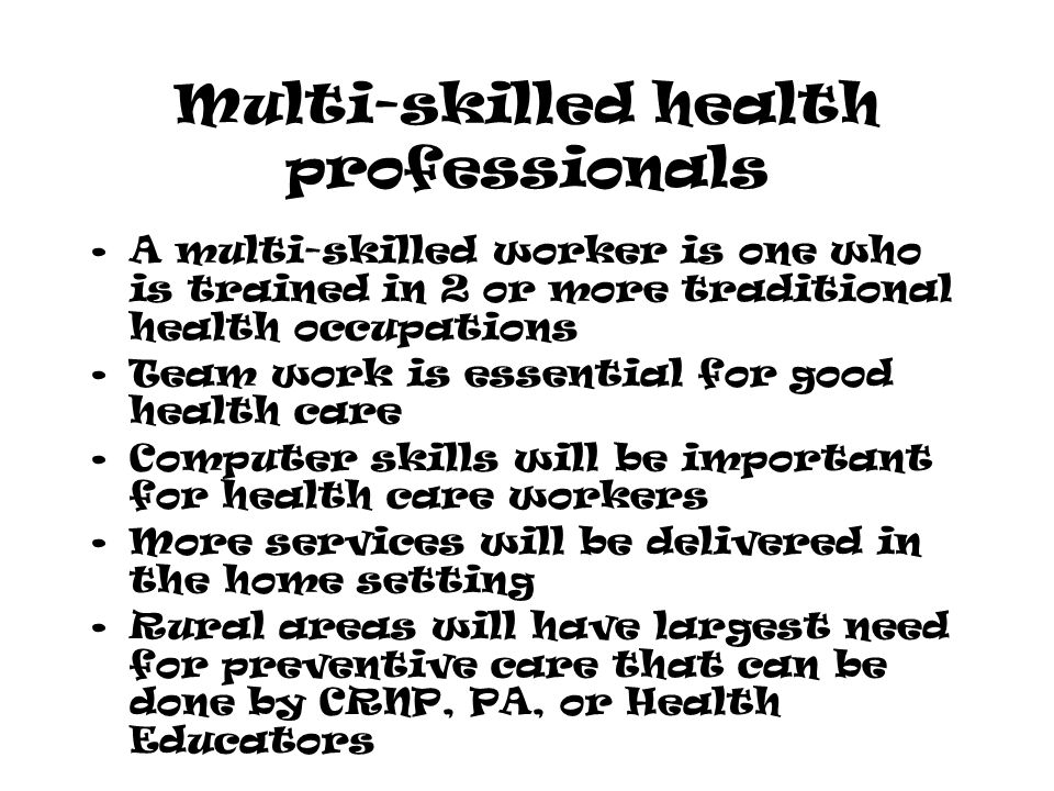 Did you know this about… Health Careers  Did you know? More