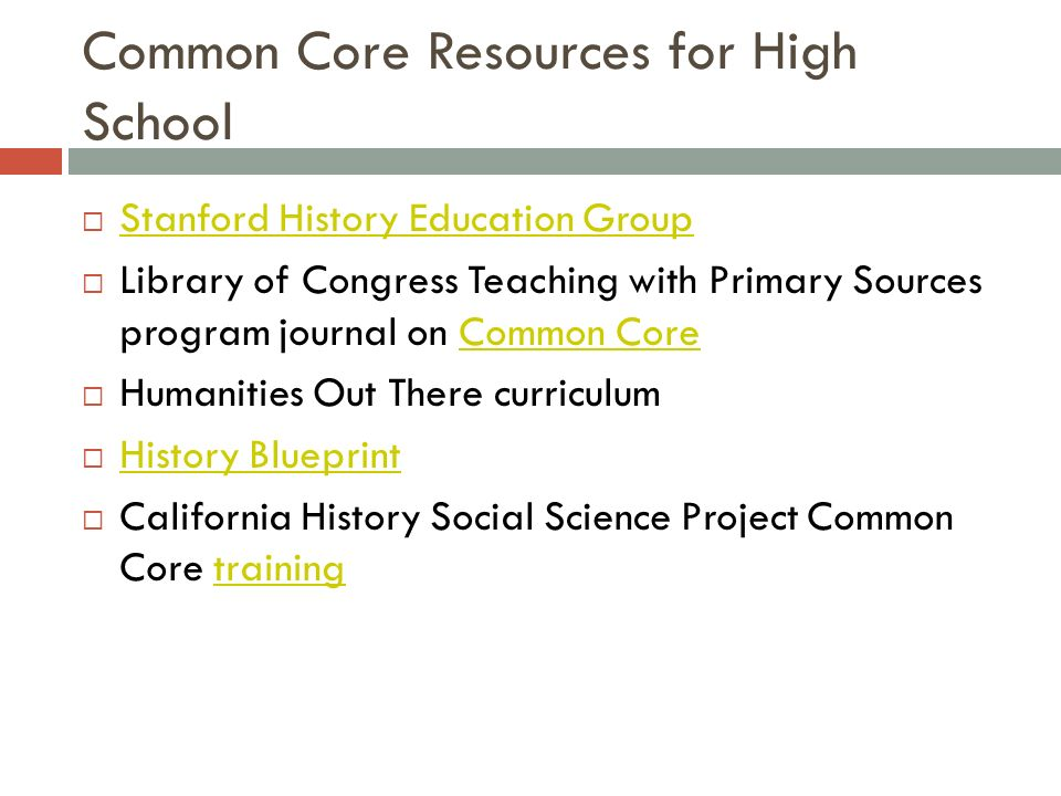 Footprints of freedom high school uci history projectspring ppt download 3 common core resources for high school malvernweather Choice Image